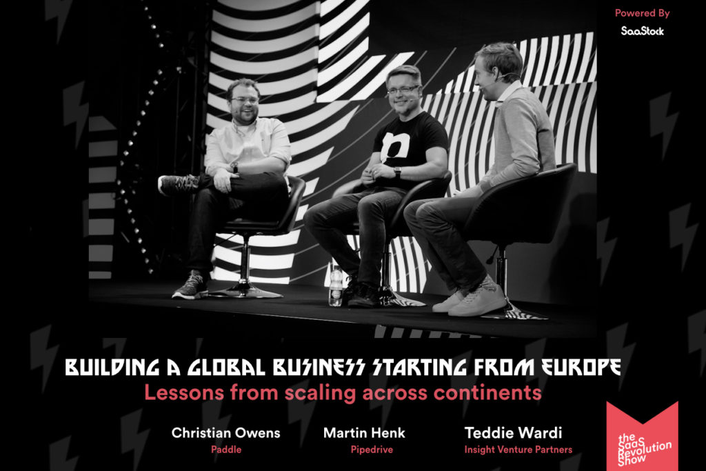 saastock panel building global businesses starting from Europe