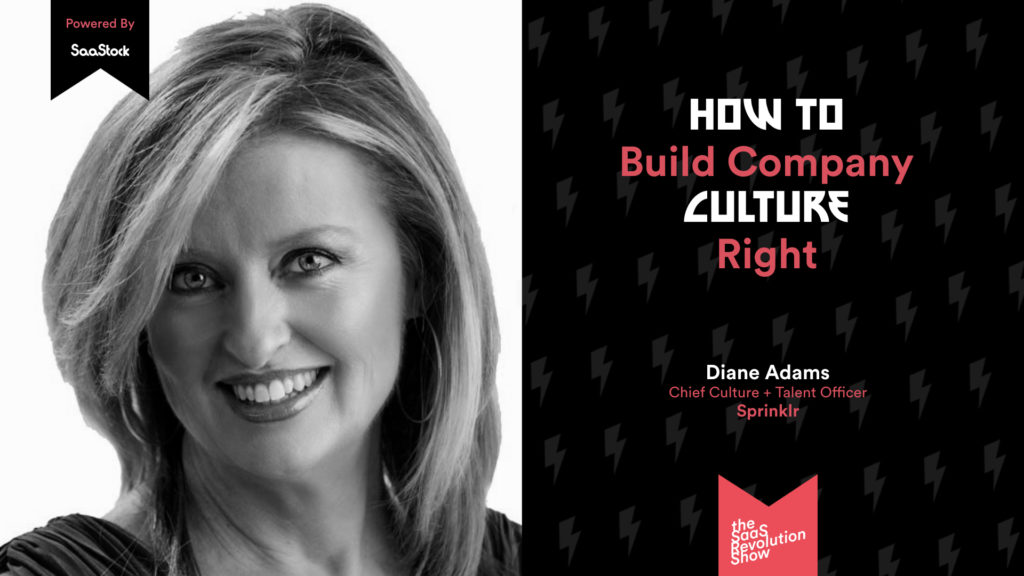build company culture right Diane Adams