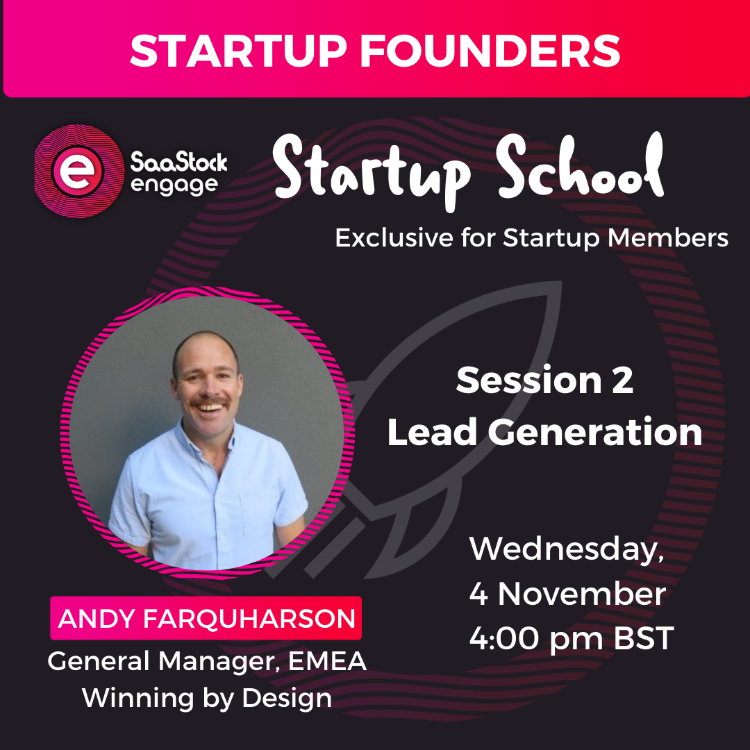 Startup School with Andy Farquharson
